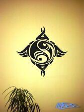 Wandtattoo Yin und Yang 2 Tribal Wandaufkleber Deko Aufkleber