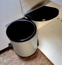 Wesco Mülleimer Klassik mit Türmitnehmer Abfallsammler 11 Liter Küche 40er Tür