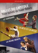 BALLET DU CAPITOLE: LE CORSAIRE/LA BÊTE ET LA BELLE/LA REINE MORTE NEW DVD
