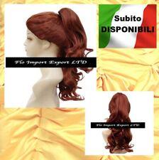 La Bella e La Bestia Parrucca Bella Carnevale Cosplay Belle Wig BEWIG01 SD