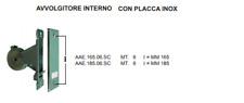 AVVOLGITORE PER TAPPARELLA PERSIANA CINTINO 6 MT   CON PLACCA INOX