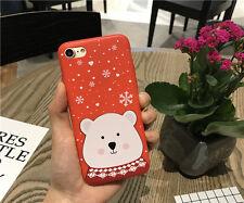 Merry Christmas iPhone 8 case/iPhone 8 Plus case Bear iPhone 8/8 Plus Case