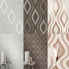Fine Decor Quartz Geo Glitter Wallpaper 3 Colours