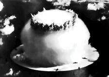195623 ATOMIC BOMB MUSHROOM CLOUD ART Print Poster Affiche
