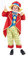 Déguisement Clown complet + Chapeau unisexe enfant Taille 3 à 4 ans