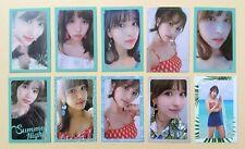 kpop Twice summer nights ntna 2nd album OFFICIAL photocard photo card - Mina ver