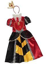 filles Disney Alice au pays des merveilles Reine de coeur Costume Déguisement &