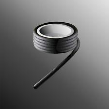 Glasfaser Schlauch acryl impregniert temperaturbeständig 250°C 1 mm  bis 10 mm