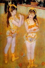 THE LITTLE CIRCUS GIRLS ORANGE JUGGLERS 1879 BY PIERRE AUGUSTE RENOIR REPRO