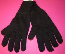 Herren Handschuhe Strickhandschuhe mit weichem Plüschfutter schwarz NEU
