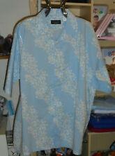 Gemustertes Herrenhemd Sommerhemd Gr.XL  2XL  3XL Baumwolle neu geblümt