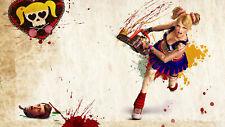 155364 Zombie Cheerleader Huge wall Beautiful Wall Print Poster CA