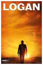 Logan movie poster 3-tailles différentes-free uk post-wolverine/x men/hugh