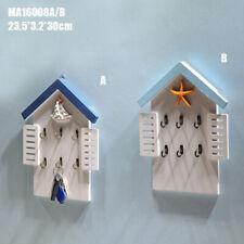 2XElegant House-Shaped Design Key Rack Holder Perfect for Home Decor