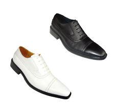 Men's Fashion Dress Shoes Faux Leather Oxfords #5738C Size 8.5 - 13