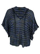 INC International Concepts Women's Hooded Open Knit Sweater