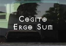 Cogito Ergo Sum (Latin - I think Therefore I Am) Vinyl Decal/Sticker