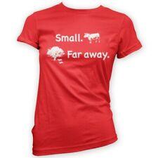 Small Far Away Womens T-Shirt -x14 Colours- Gift TV Show Fan Funny Cows Caravan