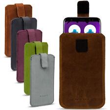 Leder Tasche Samsung Galaxy S8 Plus Hülle Cover Pull Tab Lederhülle Smartphone