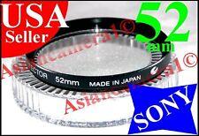 Sony Genuine Original OEM 52mm UV Protector Safety Lens Filter Made in Japan