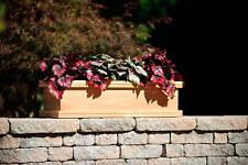 Teak wood planter flower herb tree window box garden, 49x9x8 (OD)
