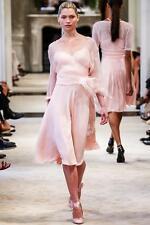 Ralph Lauren Collection Purple Label Made in Italy 100% Silk Corset Dress