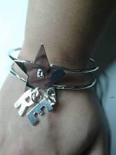 bracciale personalizzato con 2 tue iniziali big regolabile initials bracelet in