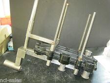 MILLIPORE CAST IRON ARM MOUNTED CASSETTE / FILTER HOLDER