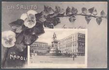NAPOLI CITTÀ 41 SALUTI da... Cartolina