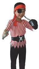 Pirate Boy Fancy Dress Costume AGE 4, 5, 6, 7, 8, 9 YRS