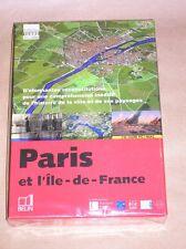 CD-ROM PC-MAC / PARIS ET L'ILE DE FRANCE / VILLE ET PAYSAGES / NEUF SOUS CELLO
