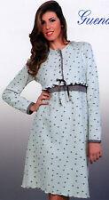 Camicia da notte donna CALDA maglia punto milano piccoli segreti