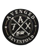 Avenged Sevenfold Patch A7X Back Black 28.5 x 28.5cm