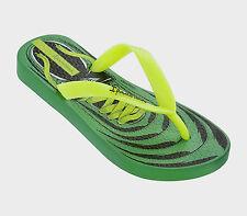 Ciabatta infradito da bambino verde Ipanema Fantasy mare casual moda gomma