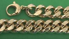 Bracciale a catena a Misura e Collana maglia grumetta in molte Lunghezze 14mm