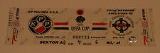 old TICKET UEFA Polonia Warszawa Poland Llansantffraid FC TNS Wales