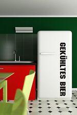 Kühlschrank Aufkleber Gekühltes Bier FZ568