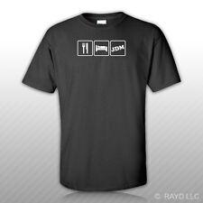 Eat Sleep JDMT-Shirt Tee Shirt Gildan S M L XL 2XL 3XL Cotton#1
