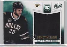 2012 Panini Prime Time Rookies 43 Lane MacDermid Dallas Stars Rookie Hockey Card