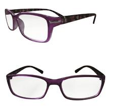 Ladies Bifocal Flower Designer Reading Glasses Pink Lilac Hearts Eyewear