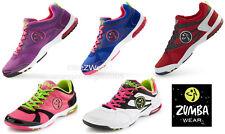 ZUMBA Impact Max Shoes Trainers Aerobics w Z Slide ~ Dance Any Surface #ZU10164