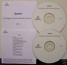 Queen Singles Collection Box Set Vol.1 CD Acetates Set