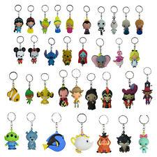 Brand New Walt Disney Characters Princess Figural 3d Keyring Keychain Blind Bag