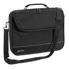 """NOTEBOOK Laptop TASCHE 17"""" Zoll 17,3 Notebooktasche Schutz Case, schwarz"""