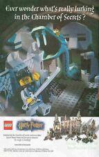 Harry Potter Chamber of Secrets: LEGO Basilisk: Version 2: Great Photo Print Ad!