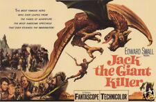 Jack the giant killer Edward Small vintage movie poster print