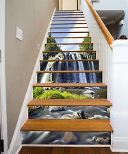 3D Stone, creek 564 Stair Risers Decoration Photo Mural Vinyl Decal Wallpaper US