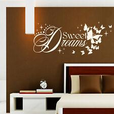Wandtattoo Sweet Dreams | Gute Nacht Träumen Schlafen Deko Idee Schlafzimmer