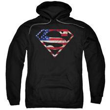 Superman Super Patriot Pullover Hoodies for Men or Kids