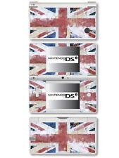 GB-Bandiera Union Jack-stile effetto invecchiato-Vinile Autoadesivo per Nintendo DSi